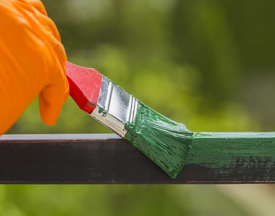 Esmaltes c mo pintar los cerramientos met licos soutelana - Como pintar una casa por primera vez ...