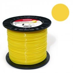 Hilo desbrozadora Oregon Yellow Roundline Redondo 3,5 mm x 124 m