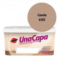 Titán una Capa Canela 6303 Pintura MATE