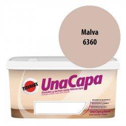 Titán una Capa Malva 6360 Pintura MATE