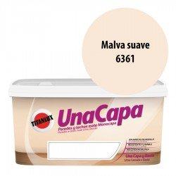Titán una Capa Malva Suave 6361 Pintura MATE