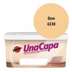 Titán una Capa Ocre 6330 Pintura MATE