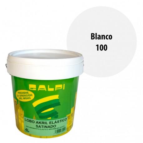 Pintura Fachadas Elastica Galpi 100 blanco