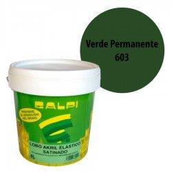 Pintura Elástica Galpi Verde Permanente 603 Satinado
