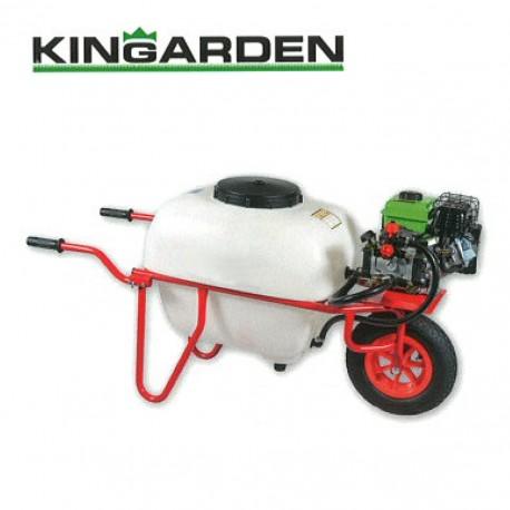 Sulfatadora de Carretilla Kingarden 100 Litros Pulverizador