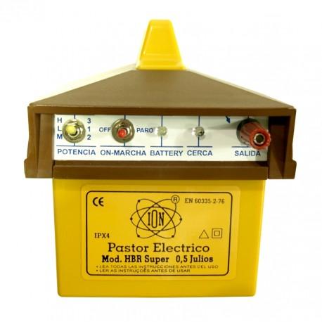 Pastor electrico Bateria recargable HBR Super ION 0,5 J
