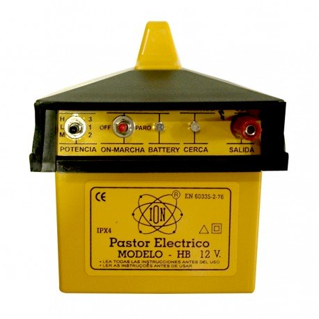 Pastor electrico a Bateria externa HB ION 3 Julios