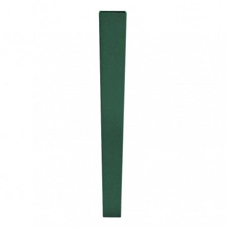 Poste rectangular Verde Ral 6005 de 60x40 mm Empotrar Malla Delfin