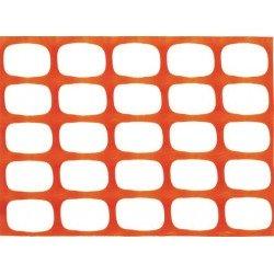 Malla baliza Naranja 1 X 50mt. 85gr