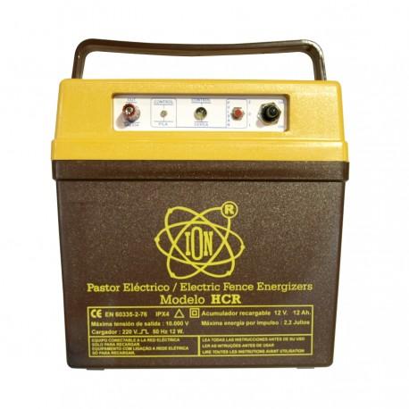 Pastor electrico Bateria recargable ION HCR 2,2 Julios