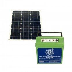 Pastor eléctrico ION HBH 5 Julios + Panel Solar 50 W 12 v