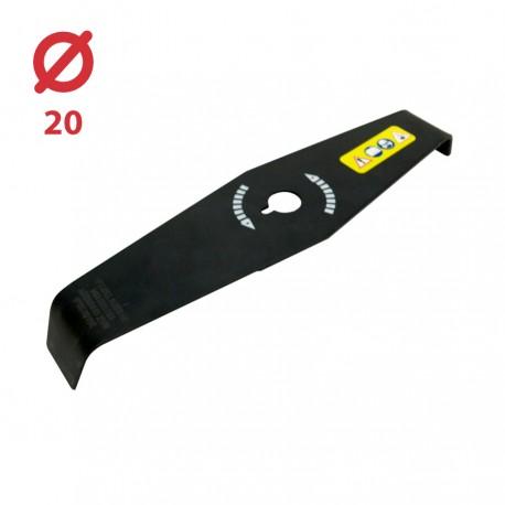 Disco desbrozadora Maleza 2 puntas 310x20 - 3 mm - Especial Silvas