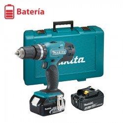 Taladro combinado a Batería Makita DHP453RFE Tensión 18 V LXT