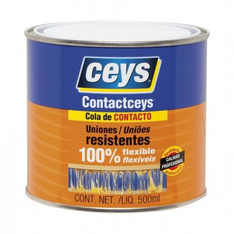Cola de Contacto Contactceys Ceys Uso general 500 ml y 1 L