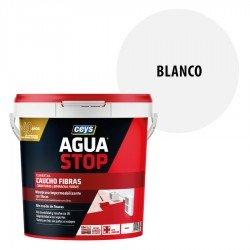 Impermeabilizante Agua Stop Ceys Caucho Fibras color Blanco