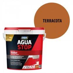 Impermeabilizante Agua Stop Ceys Transit color Terracota