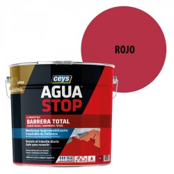 Impermeabilizante AguaStop Ceys Barrera total color Rojo