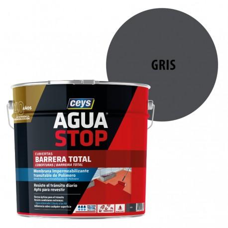Impermeabilizante AguaStop Ceys Barrera total color Gris 1 y 4 kg