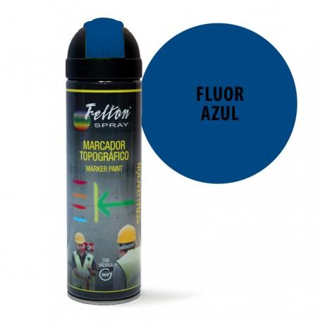 Spray Marcador Topografico Fluor Azul Felton 500 ml