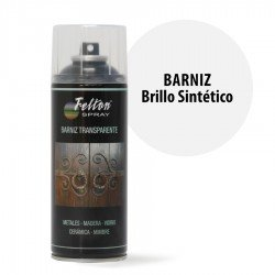 Spray Barniz Transparente Felton Brillo Sintético 400 ml