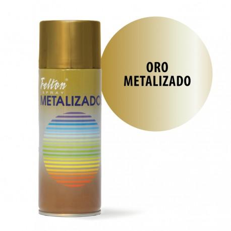 Spray Oro Metalizado Felton 400 ml manualidades