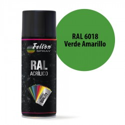 Spray Acrílico Felton RAL 6018 Verde Amarillo 400 ml