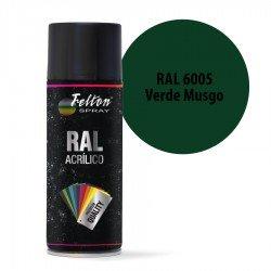 Spray Acrílico Felton RAL 6005 Verde Musgo 400 ml