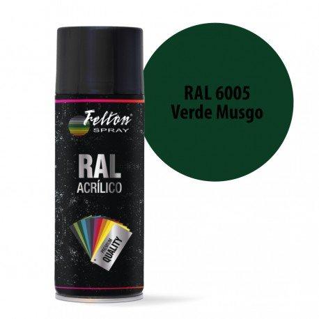 Spray Acrilico Felton RAL 6005 Verde Musgo 400 ml
