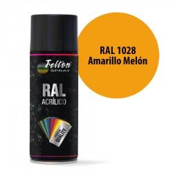 Spray Acrílico Felton RAL 1028 Amarillo Melón 400 ml
