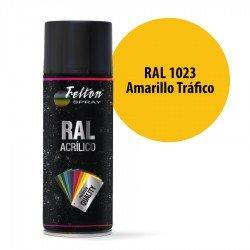 Spray Acrílico Felton RAL 1023 Amarillo Tráfico 400 ml