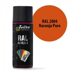 Spray Acrílico Felton RAL 2004 Naranja Puro 400 ml