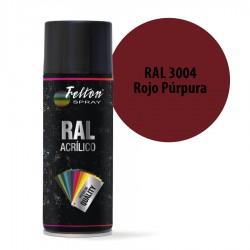 Spray Acrílico Felton RAL 3004 Rojo Púrpura 400 ml