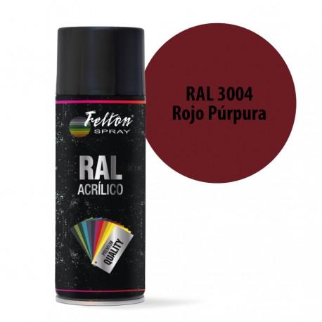Spray Acrilico Felton RAL 3004 Rojo Purpura 400 ml