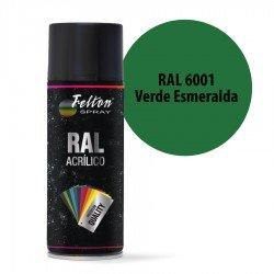 Spray Acrílico Felton RAL 6001 Verde Esmeralda 400 ml