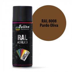 Spray Acrílico Felton RAL 8008 Pardo Oliva 400 ml