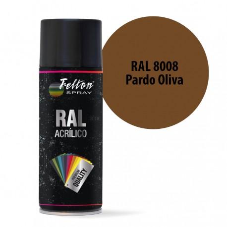 Spray Acrilico Felton RAL 8008 Pardo Oliva 400 ml