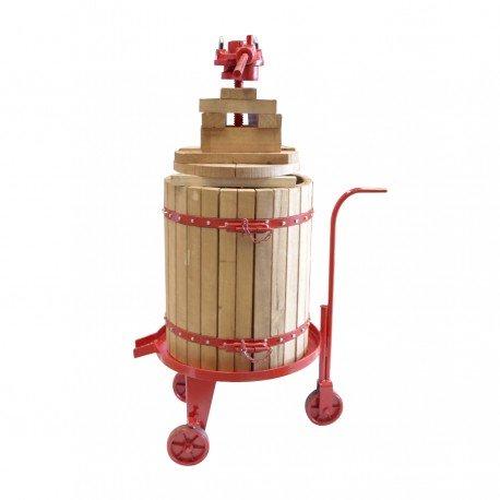 Prensa de Uva y Manzana, Aceituna Manual 50x60 cm Marmonier vino sidra