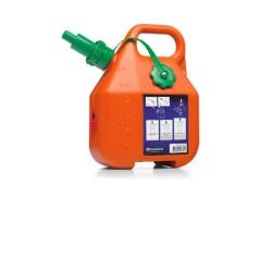 Bidón Husqvarna gasolina 6L.