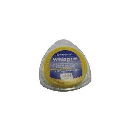 hilo whisper husqvarna 12m-2.7mm