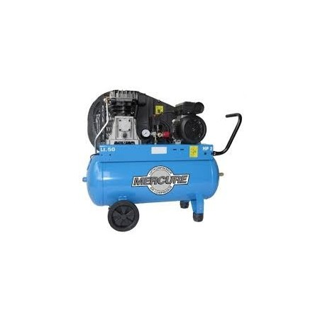 Compresor correa 2HP/50lt. NU-AIR