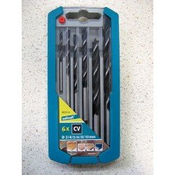 kit 6 brocas madera wolcraft 8635000