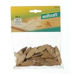 50 galletas de unión Wolcraft nº20