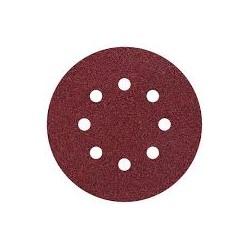 5 discos adhesivos lijar grano Wolcraft 125mm 120