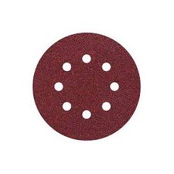 5 discos adhesivos lijar grano Wolcraft 180 125mm