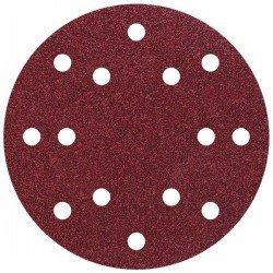 5 discos adhesivos lijar grano Wolcraft 150mm 120