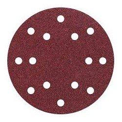 5 discos adhesivos lijar grano Wolcraft 150mm 60