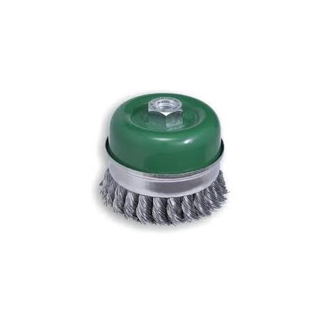 cepillo acero trenzado TU131