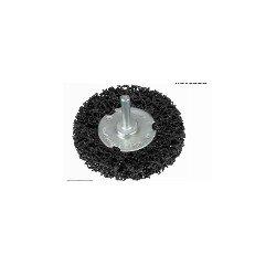 Cepillo metálico para taladro Alyco 75mm