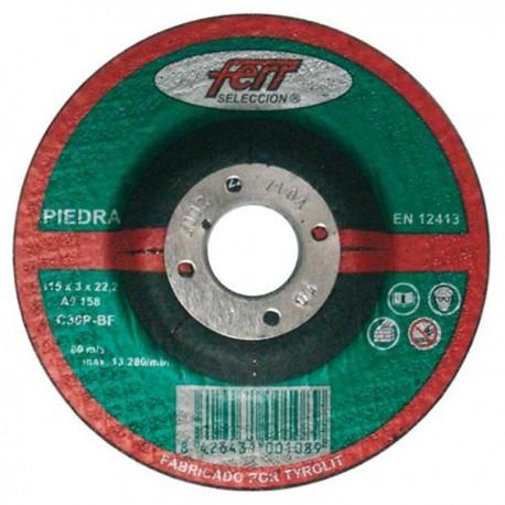 Disco Abrasivo Corte Piedra 230x3x22,2 FERR
