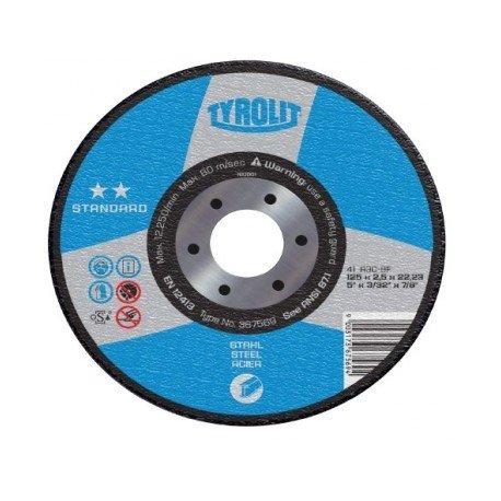 disco corte metal tyrolit 350X3.5X25.4 A60P4BF43M